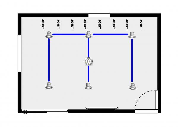 Recessed Light In Series Wiring Diagram