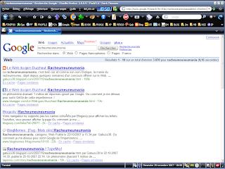 Google racheumeuneumania