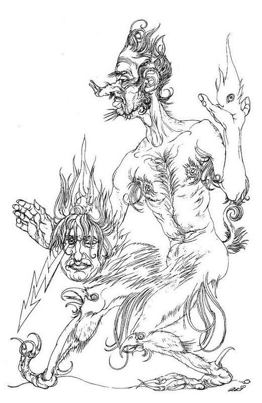 Austin Osman Spare, drawing 2