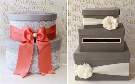 18 DIY Wedding Card Boxes For Your Guests To Slip Your