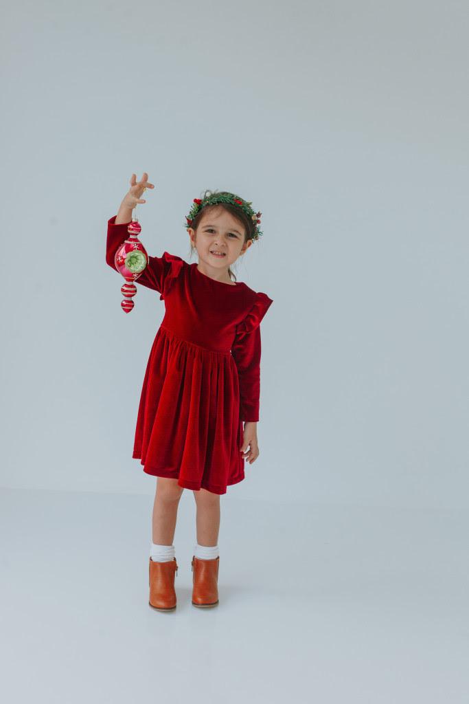 Little girls Christmas dresses