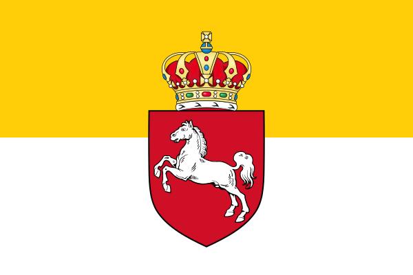 Archivo:Flag of Hanover 1837-1866.svg
