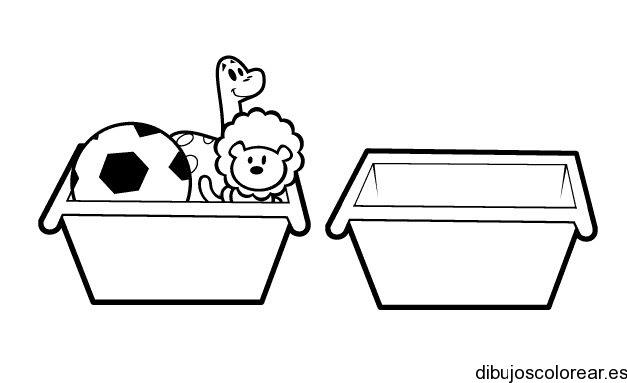 Dibujo De Cajas De Juguetes