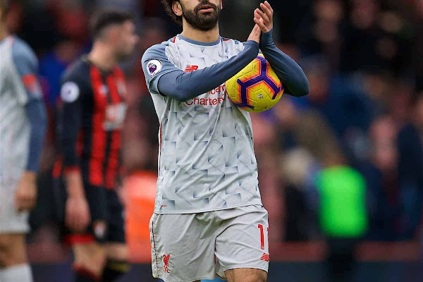 d947a8e0411 Super Salah & the ideal preparation for Napoli – 5 talking points from  Bournemouth 0-4 Liverpool