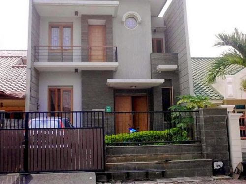 Rumah Minimalis Desain 2 Lantai Yang Segar Rumahminimalis Com