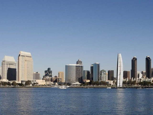 San Diego skyline (Lenny Ignelzi / Associated Press)