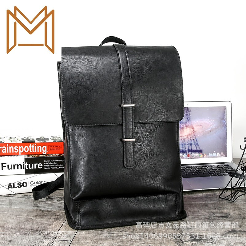 Sale 2019 Both Shoulders Package Male Travel Backpack Business Affairs Trend Backpack Man Travel Backpack