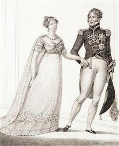 Princess Charlotte and Prince Leopold 1816