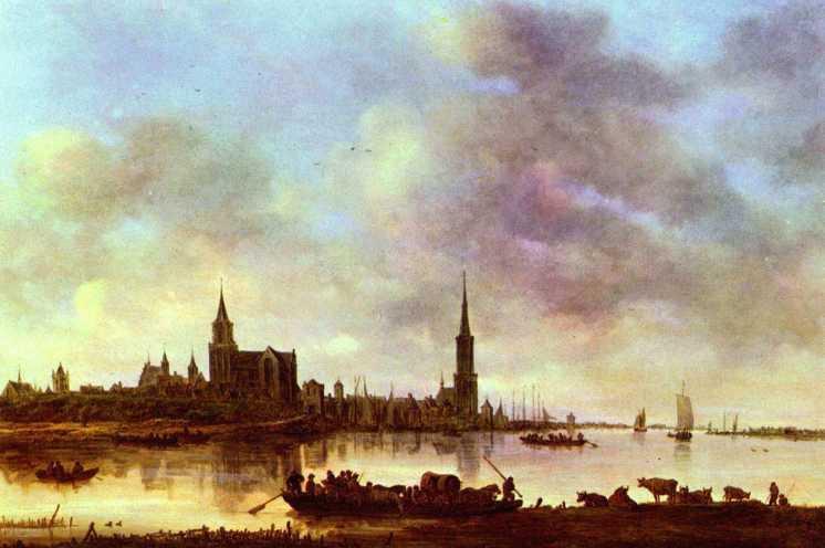 Jan van Goyen, Emmerich; 1645