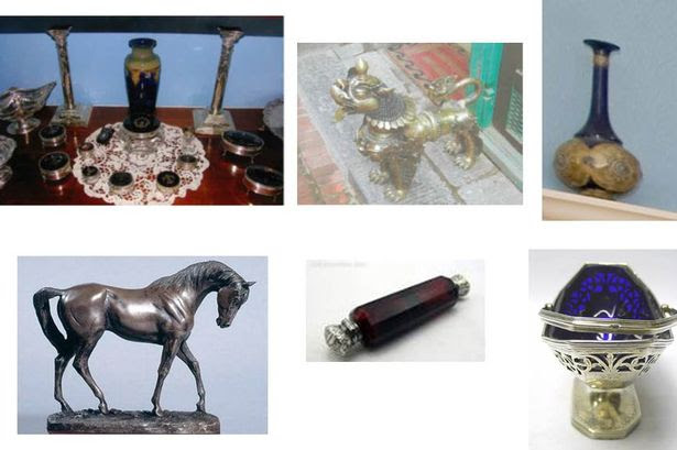 Antiques stolen from an elderly woman in Gilesgate, Durham, on March 20