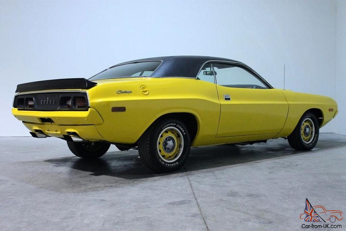 1972 Dodge Challenger R/T Rallye 340ci - Road Warrior - NO RESERVE for ...