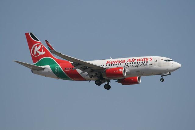 Kenya Airways Boeing 737
