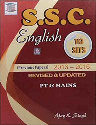 SSC English Sets by MB Publication, ajay k singh, ssc, english practice sets, ssc cgl, buy