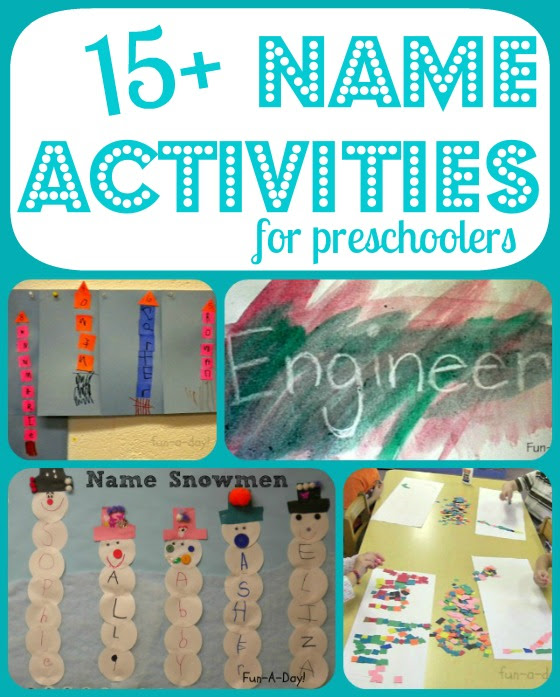 name activities from fun a day