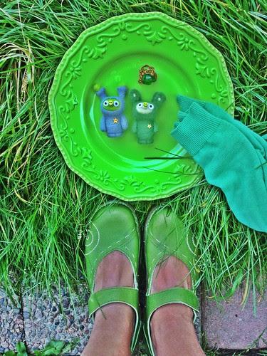 shoe per diem sept 16, 2012 - seven shades of green