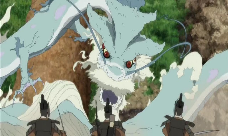Check out these epic anime dragons, including Orochi from Onigamiden!