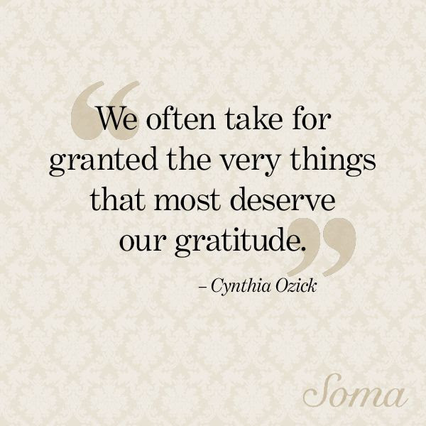 Gratitude Dont Take Anything For Granted The Bright Path