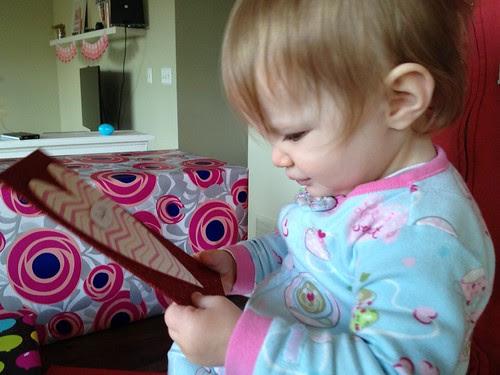 card reading.