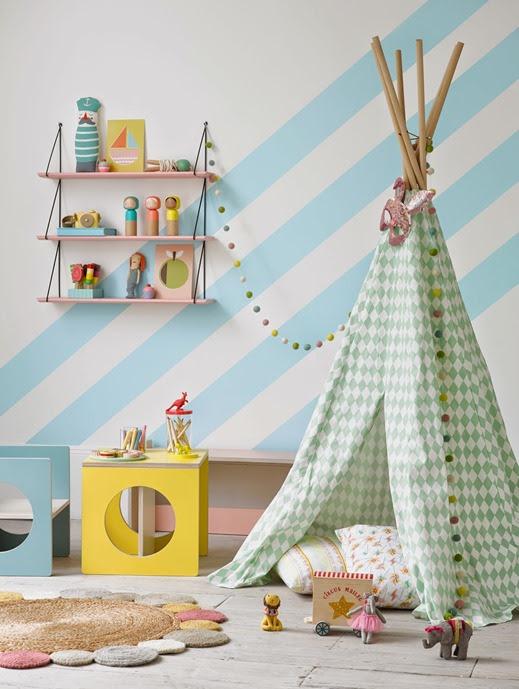teepee kids room