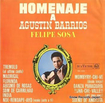 SOSA, FELIPE homenagem a agustin barrios