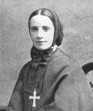 Mother Frances Xavier Cabrini, first canonized...