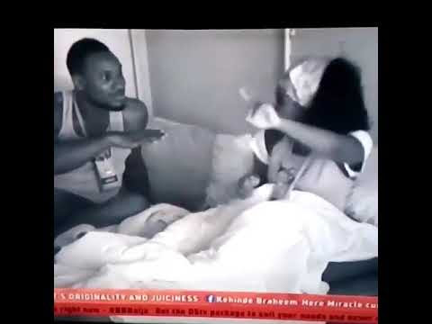 Watch video: Big brother housemate Cee-C plans on reporting Tobi to Big brother if Tobi ever touches or comes close to her. #Bbnaija.
