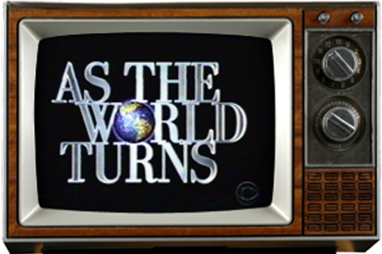 """""""As the World Tunrs"""""""