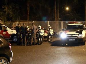 Policiais estão presos na seccional de Rio Claro (Foto: Samuel Pancher/Arquivo pessoal)