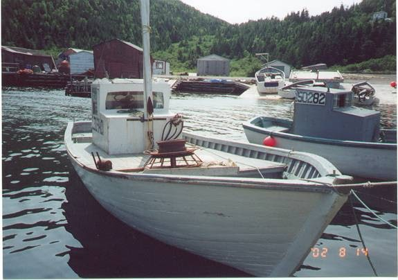 Plywood Sea Skiff Jamson