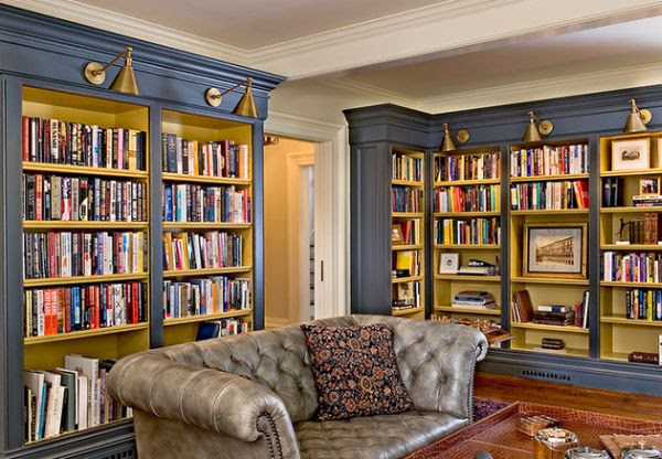 Tips To Design In Home Library | Home Decor Report