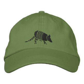 Armadillo Hat Embroidered Baseball Cap