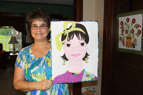 Lady #51 - Anita with herself