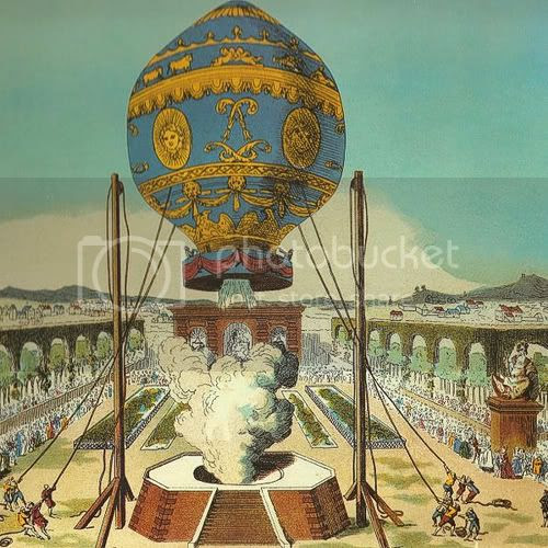 Montgolfier Brother's Flight