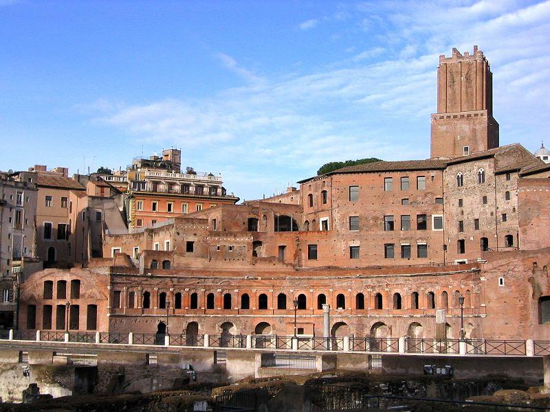 I cosiddetti Mercati di Traiano