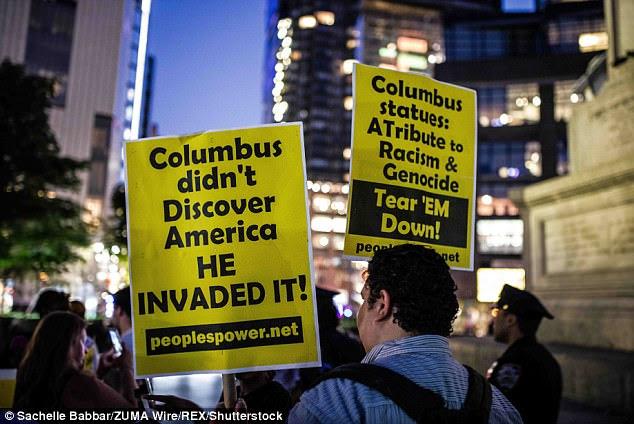 Αποτέλεσμα εικόνας για ΤΗΕ STATUE OF COLUMBUS