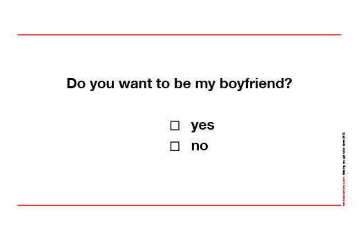Would You Like To Be My Girlfriend Boyfriend Text Copy