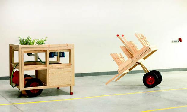 ร้านรถเข็น ร้านค้ารถเข็น ทำจากไม้
