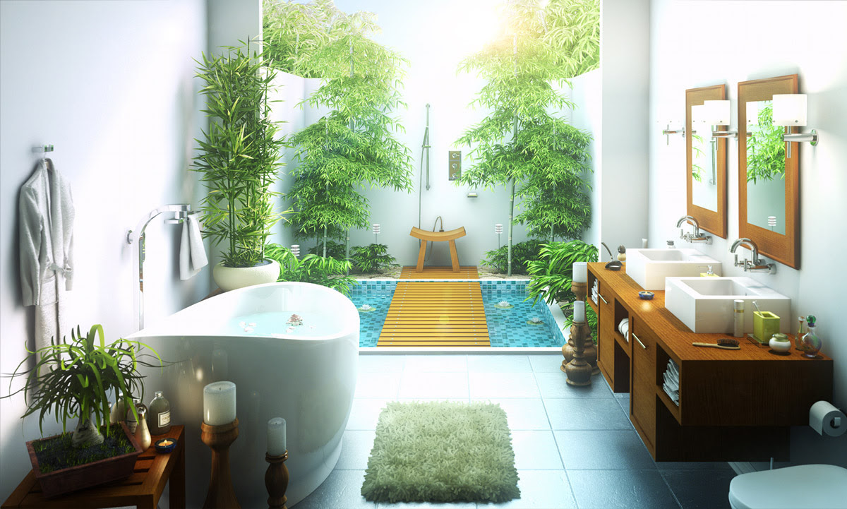 50 Stunning Outdoor Shower Spaces That Take You To Urban ...