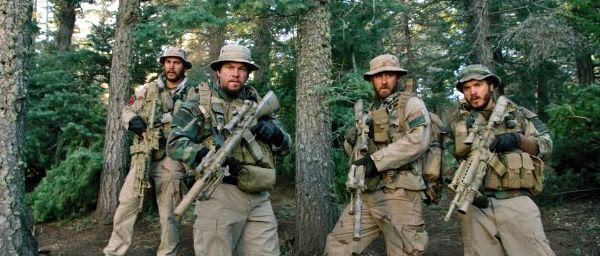 Taylor Kitsch, Mark Wahlberg, Ben Foster and Emile Hirsch play four Navy SEALS who fight for their lives after their mission is compromised in Afghanistan, in LONE SURVIVOR.
