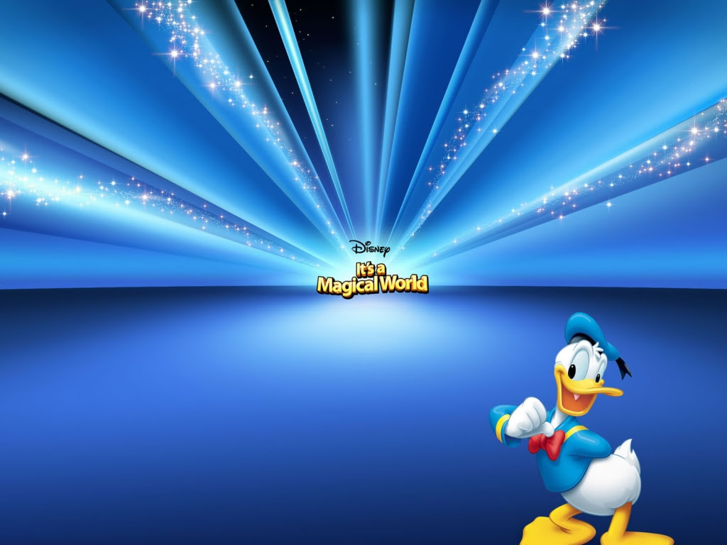 1024x768 Donald Duck desktop PC and Mac wallpaper