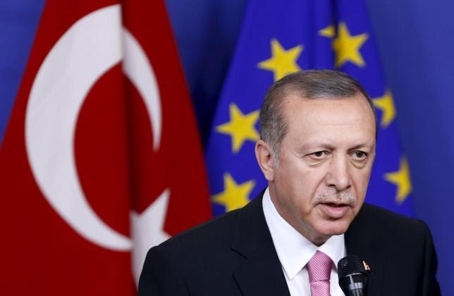 Erdoğan y la UE