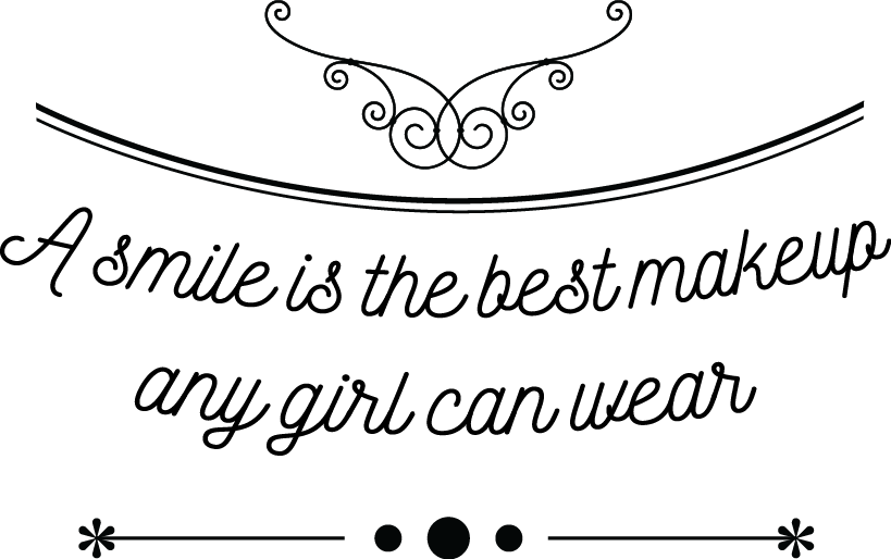 A Smile Is The Best Makeup Any Girl Can Wear Share Your Stickyquotes