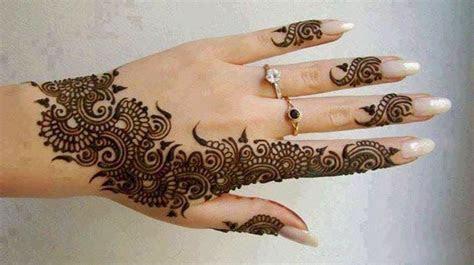 Arabic Mehndi Designs for Women ? Shadibox