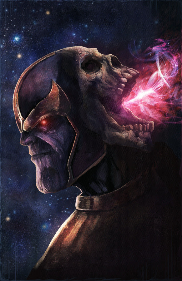 Thanos by Blake Henriksen