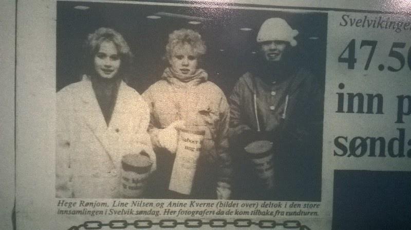 f977fd7b johncons: Her ser vi to pene blondinner, Hege Rønjom, (som jeg gikk i  klasse med, i tredje klasse, (var det vel), på Berger skole), og Line  Nilsen, ...