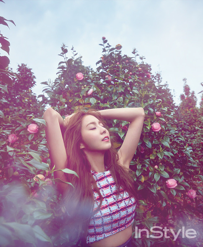 After School Uee - InStyle Magazine May Issue '15