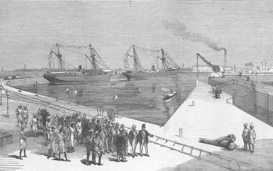 Image result for 1855 BOMBAY-DOCKYARD BANDER(DOCK)