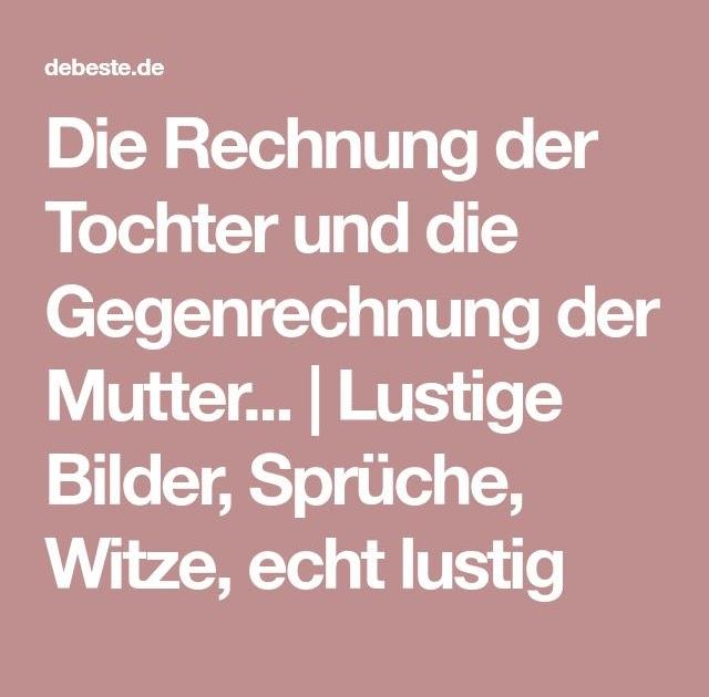 Inspiration Mutter Tochter Sprüche Lustig - Online