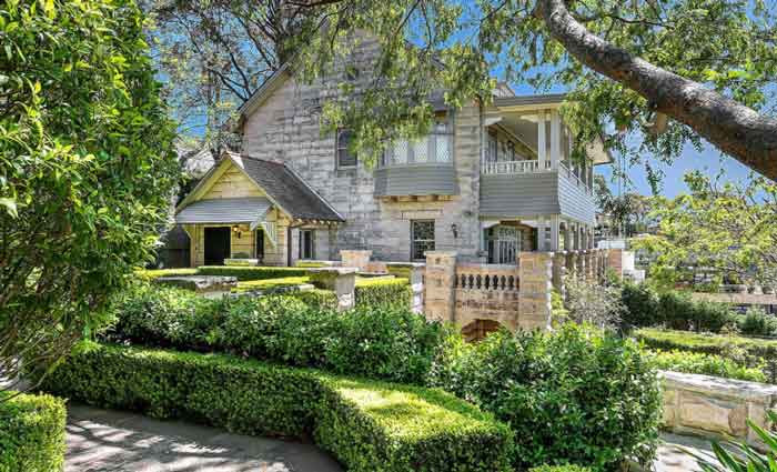 Historic Arts and Crafts style Balmoral House, Mosman, sold