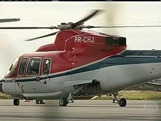 Número de acidentes de helicóptero dobra na Bacia de Campos no RJ